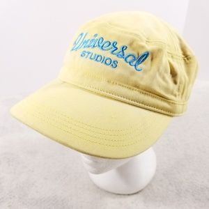 Universal Studios Yellow & Blue Plaid One-Size Hat